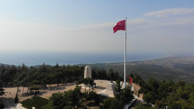Chunuk Bair. The Battle of Chunuk Bair was a World War I battle fought between the Ottoman defenders and troops of the British Empire over control of the peak in August 1915. çanakkale province stock videos & royalty-free footage