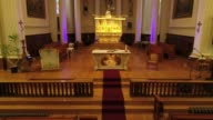 istock Church Altar inside drone Religion art Canada Quebec Church 1198694581