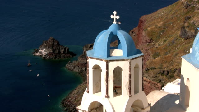 Church at Santorini video
