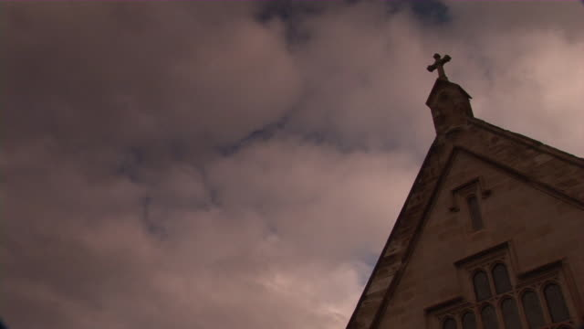 church cross - church architecture stock videos & royalty-free footage