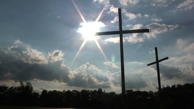 Church Crosses. video