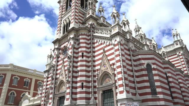 Iglesia al Carmen en Bogota Colombia - vídeo