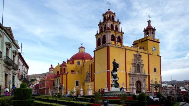 church in guanajuato, mexico video