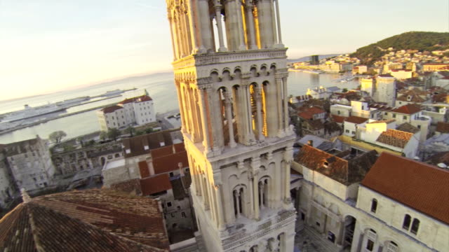 церковь в split - хорватия стоковые видео и кадры b-roll