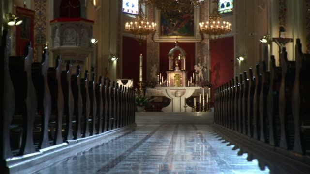 HD DOLLY: Church Interior video