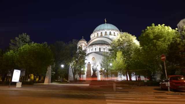 Church of Saint Sava-Belgrade-Serbia video