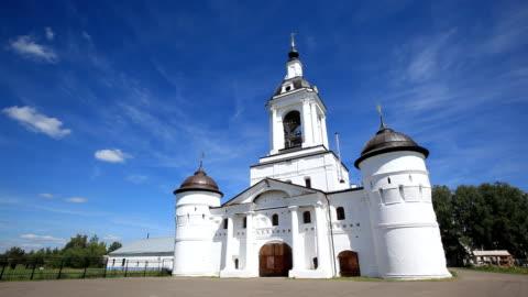 Church of St. Nicholas in Avraamiev Epiphany Convent / Russia. Rostov video