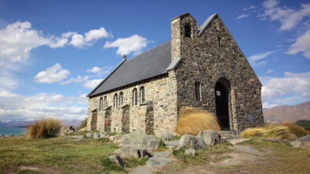 Church of the Good Shepherd, Lake Tekapo, New Zealand video