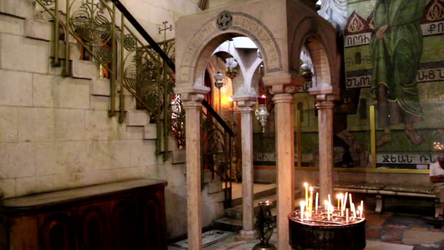 Church of the Holy Sepulchre in Jerusalem, Israel video