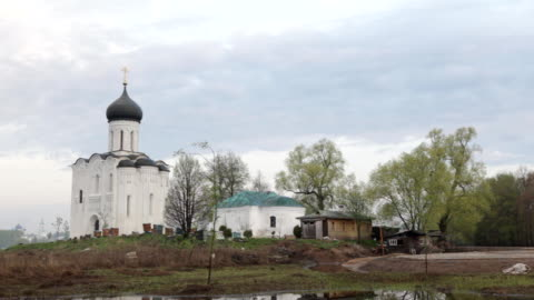 Church of the Intercession on the Nerl / Russia. Vladimir video