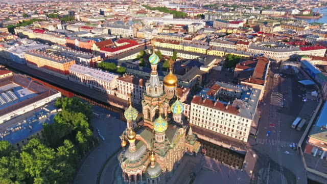 Church of the Savior on Spilled Blood Church of the Savior on Spilled Blood russian culture stock videos & royalty-free footage