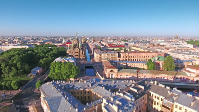 church of the savior on spilled blood - treedeo saint petersburg stock videos & royalty-free footage
