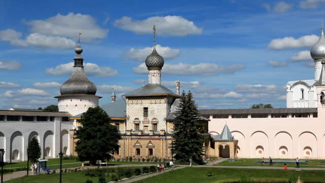 Church of the Virgin Hodegetria / Russia. Rostov Velikiy video
