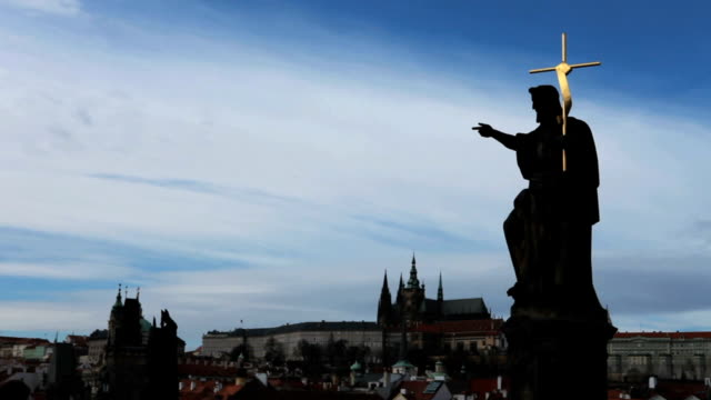 Church Steeple in Prague, Czech Republic video
