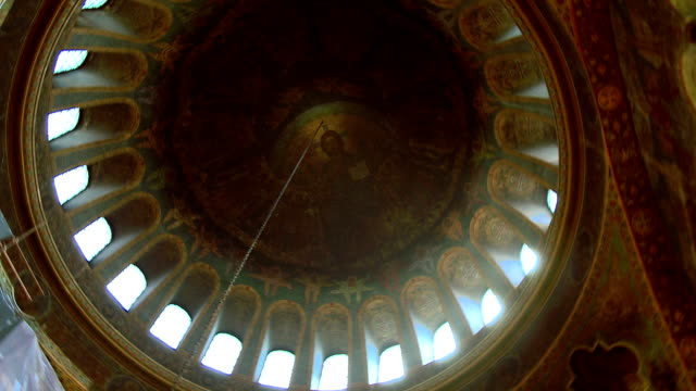 kirche sveta nedelia dome - neues testament stock-videos und b-roll-filmmaterial