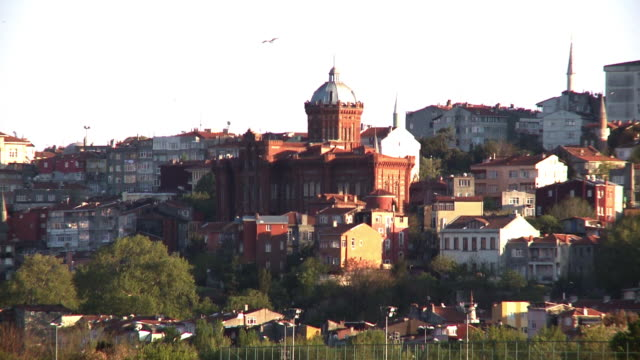 Church with historical architecture in Istanbul, Turkey video
