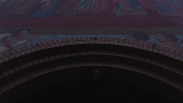Church_Mural_Doors_Tilt_Up video
