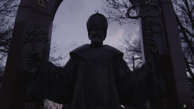Church_Statue_Cold video