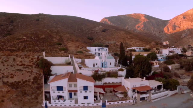 chiese-kalymnos-emporeio - isole egee video stock e b–roll