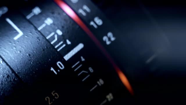 cine objektiv fokussierung - kamera stock-videos und b-roll-filmmaterial