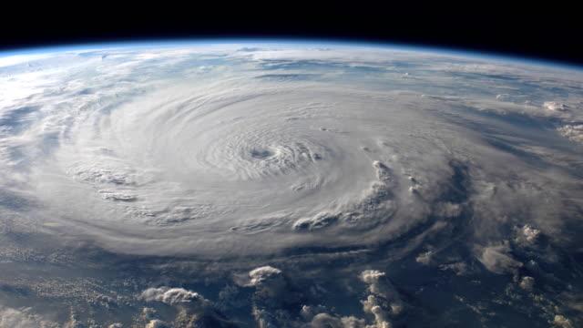 4k nasa cinemagraph collection - hurricane felix - uragano video stock e b–roll