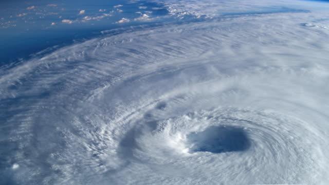4k nasa cinemagraph collection - hurricane - uragano video stock e b–roll