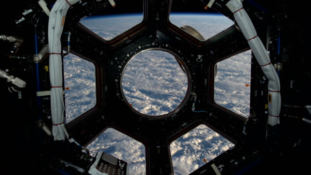 4K NASA Cinemagraph Collection - ISS Window.