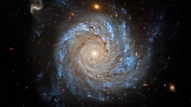 vídeos y material grabado en eventos de stock de 4k la nasa cinemagraph colección - galaxia espiral ngc 1309. - la vía láctea