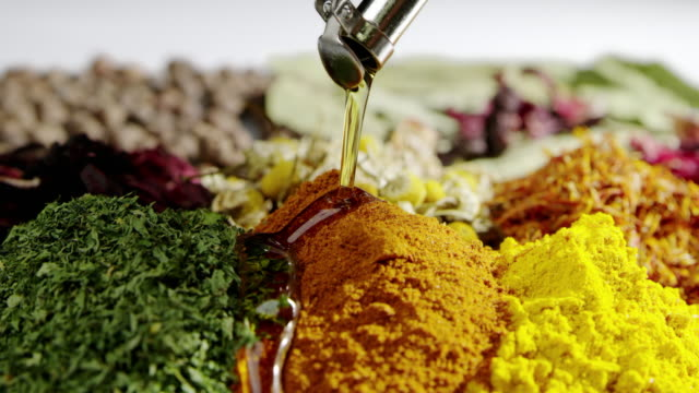 Cinemagraph herbs cooking pouring oil slow motion food seasoning ingredient Slow motion (commonly abbreviated as slo-mo or slow-mo) is an effect in film-making whereby time appears to be slowed down. paprika stock videos & royalty-free footage