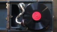 istock Cinemagraph Loop Vintage Vinyl Turntable Record Player 1225009354