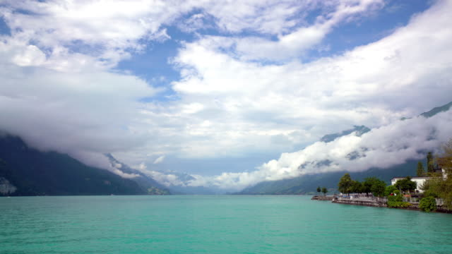 Cinemagraph of Brienz lake video
