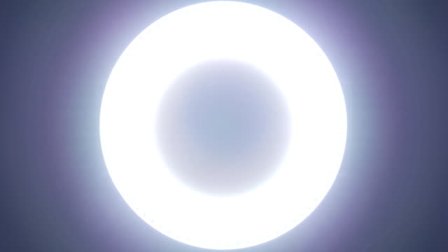 Circle led lights video