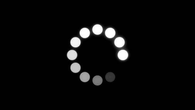 Circle Loading Animation video
