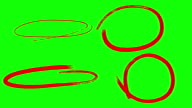 istock Circle Markers Animated, Green Screen 1266425754