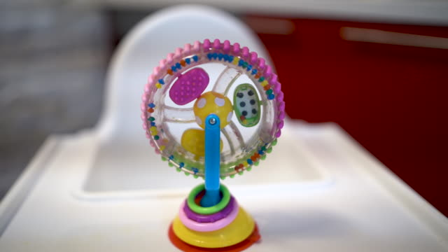 Circle shape colorful toy