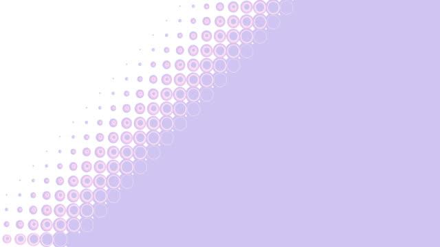 stockvideo's en b-roll-footage met cirkel overgang abstracte achtergrond - halftint