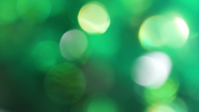 Circles Bokeh Rotation in a Clockwise video