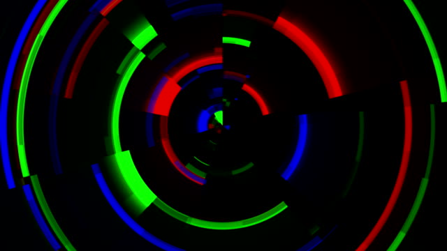 Circles RGB video