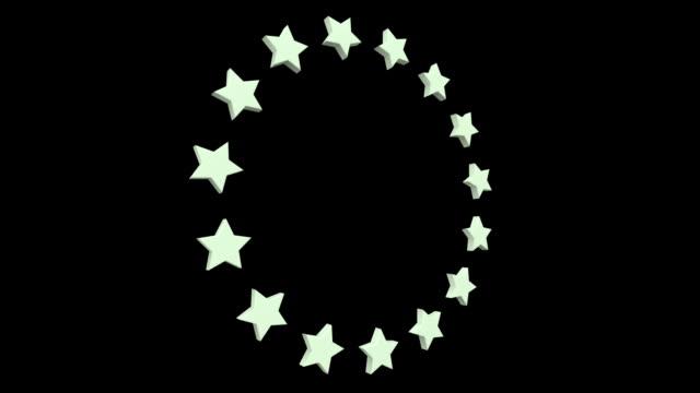 Circling Stars x3 video