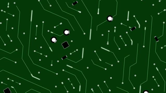Circuit Board Animation video