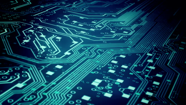 Circuit Board Background 3 - Loop