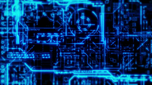Circuit Board Background video