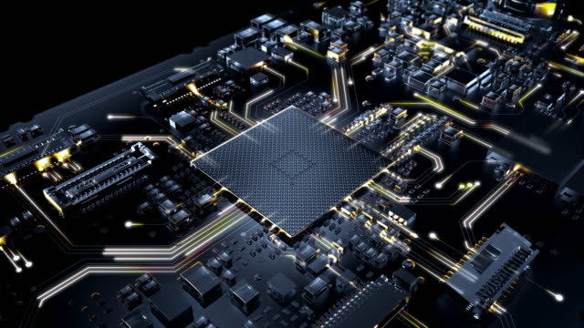 Circuit Board Visual Effects A