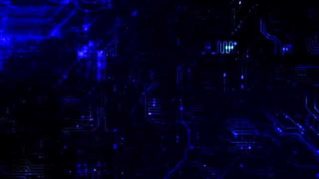 vídeos y material grabado en eventos de stock de zoom de circuito - placa madre