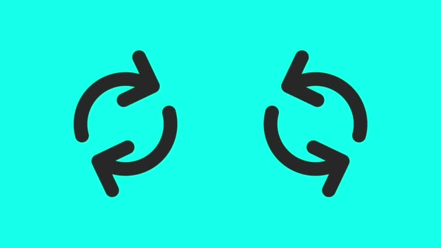Circular Arrow - Vector Animate video