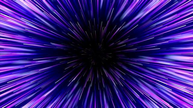 centric kreisbewegung geometrische muster. abstrakte neon geometrischen hintergrund. starburst dynamische linien oder strahlen. nahtlose schleife - bewegungsunschärfe stock-videos und b-roll-filmmaterial