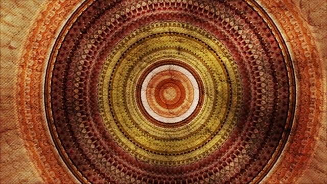stockvideo's en b-roll-footage met circular kaleidoscope - mandala