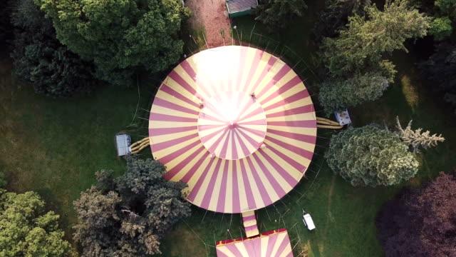 sirk çadırı - circus stok videoları ve detay görüntü çekimi
