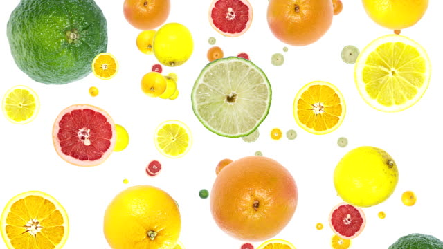 Frutas cítricas, cair de - vídeo