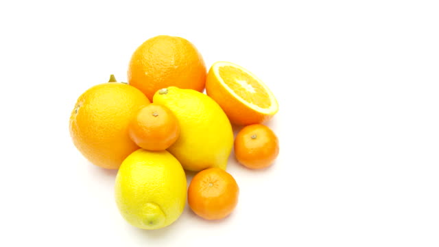 citrus fruits - seamless loop video